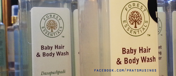 Baby Hair and Body Wash by Forest Essentials {For Kids ...