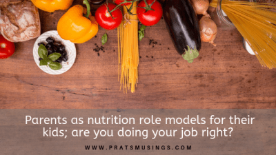 Parents as nutrition role models for their kids