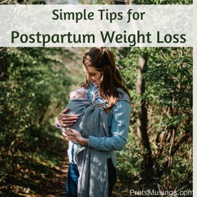 Simple Tips for Postpartum Weight Loss