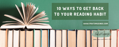 ways to get back to your reading habit