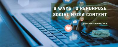 Repurpose Social Media Content