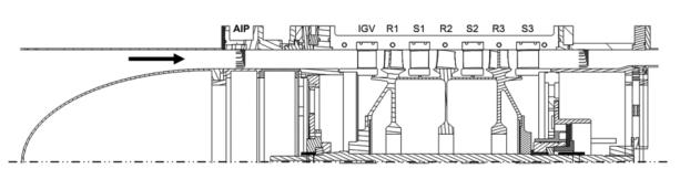 engineering diagram of a fan on a modern turbine