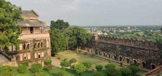 The Jhansi fort