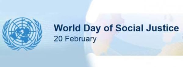 20. februar – SVETSKI DAN SOCIJALNE PRAVDE