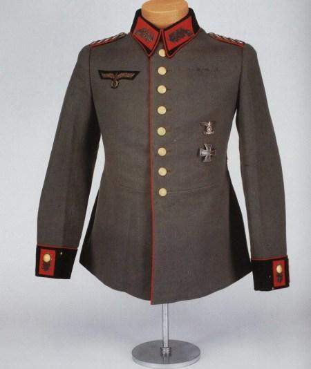 Uniforme del General Mayor Erwin Rommel
