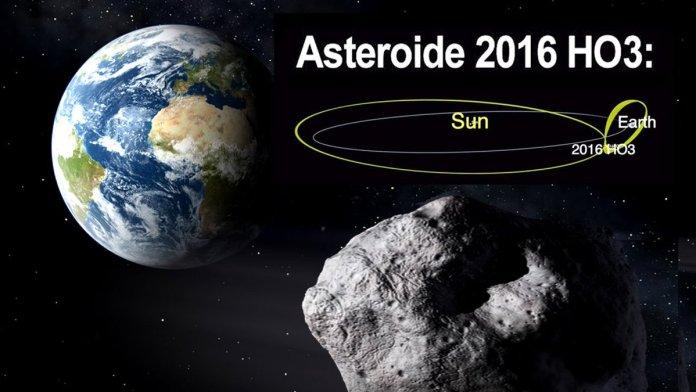 La órbita del asteroide también cambia hacia adelante y hacia atrás en un giro lento que le toma varias décadas.