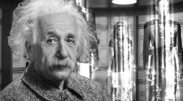 Albert Einstein, teletransportación