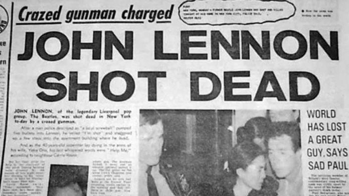 john lennon, vida, datos curiosos, the beatles, muerte de john lennon
