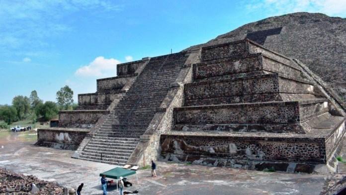 pirámide de la luna, Teotihuacán, cueva subterránea, inframundo, infierno, Arqueólogos mexicanos, túneles de acceso, México, Estado de México, UNAM
