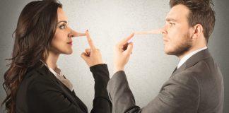 Mentiras, mentir, mentimos 3 veces cada 10 minutos, mentiras blancas, mentiras profesionales, engaño