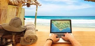 nómadas digitales, nómada, Internet, viajar, trabajar viajando, trabajos online, laptop, trabajar desde casa, negocios online, negocios digitales, minimalismo