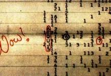 señal wow, Seth Shotask, Instituto SERI, planeta, extraterreste, señales extraterrestres, secuencia 6EQUJ5, Ehman, sonidos espaciales, sonidos, frecuencias
