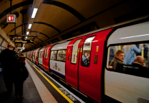 Calor del metro en Londres Destacada 3