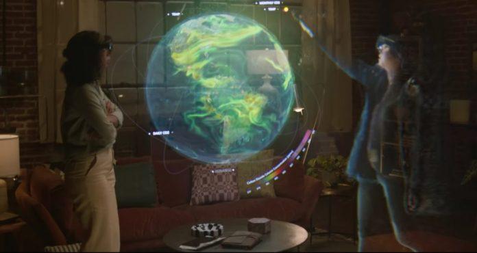 holograma, microsft, reuniones presenciales con microsoft, progrmama nuevo de microsoft para tener reuniones por holograma
