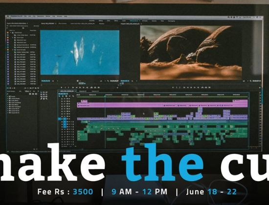 Video editing workshop 'Make the Cut' to begin from June 18