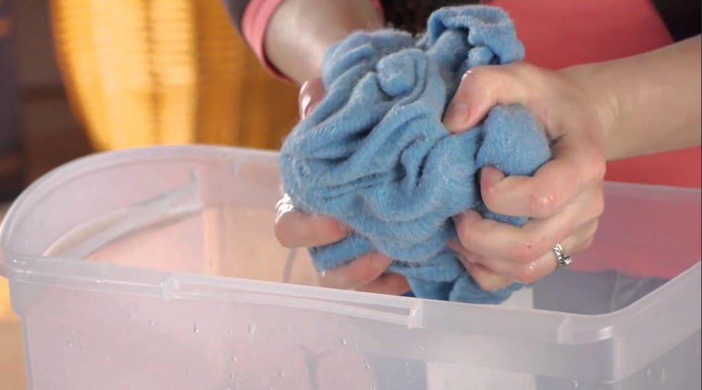 Как стирать вещи из флиса простые способы