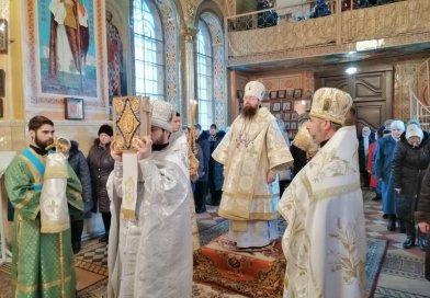 Викарный епископ совершил освящение великой Агиасмы