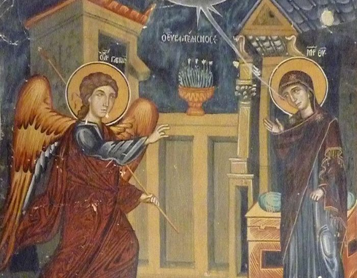 annunciation on holy saturday