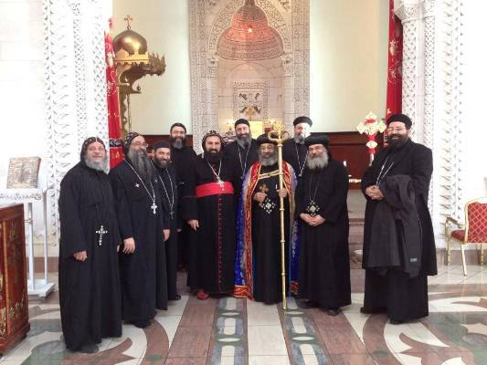 Holy-Synod-of-the-Coptic-Orthodox-Church-visited-Syriac
