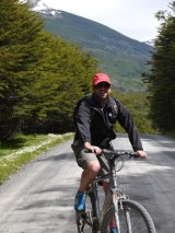 Jove models the latest cycling gear on our road trip