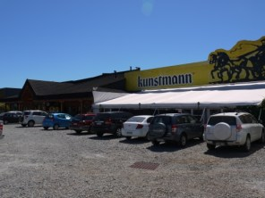 Outside the Kuntsmann brewery in Valdivia