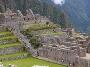 Before the arrival tour groups, Machu Picchu was a relatively quite place