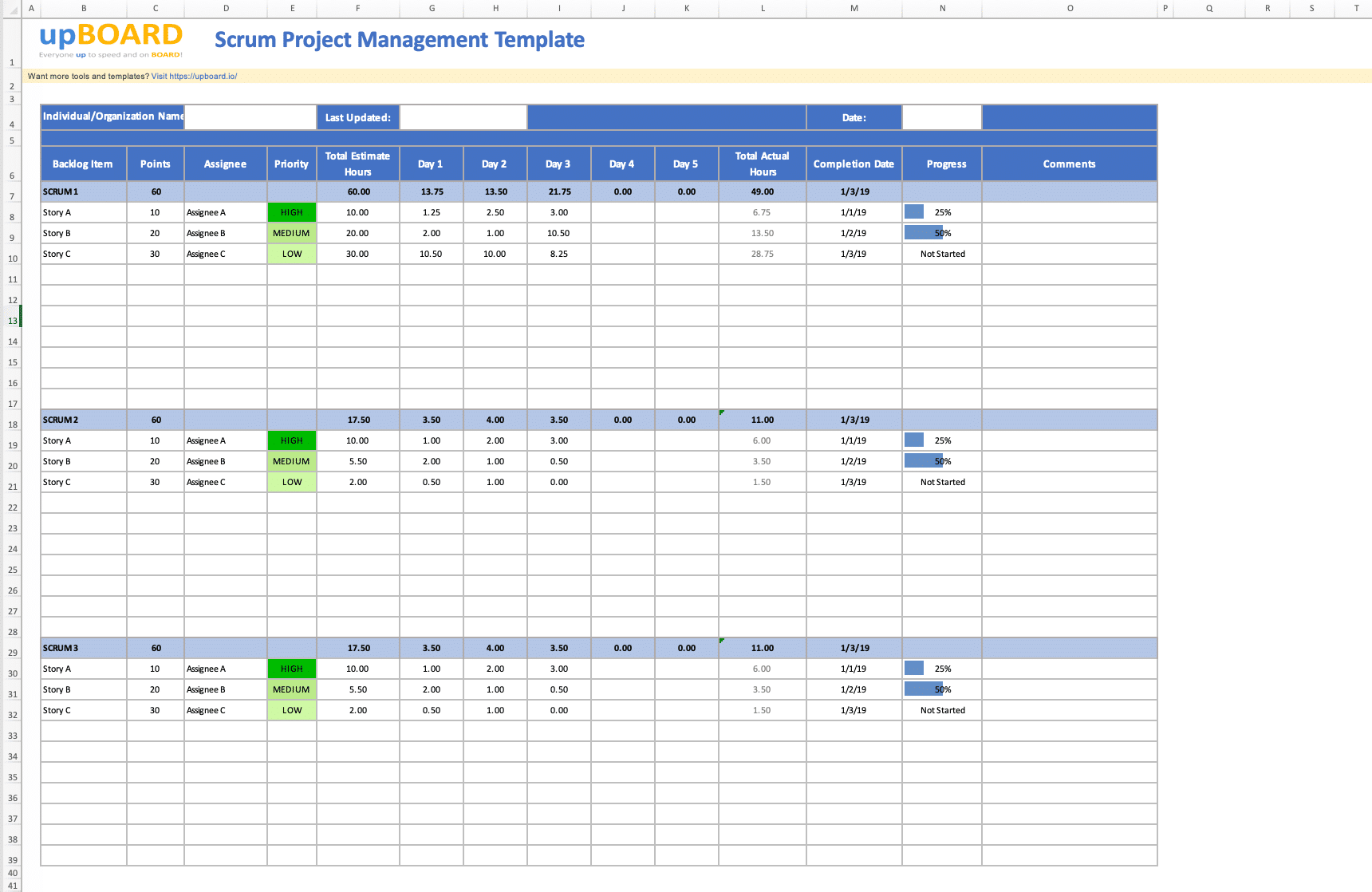 Use these sample senior project manager interview questions to identify potential hires for your open roles. Scrum Project Management Online Software Tools Templates