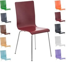 CLP Wartezimmerstuhl Pepe mit ergonomisch geformten ...