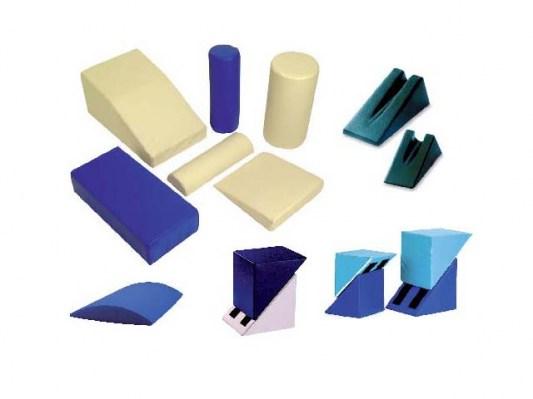 Cuscini per terapia  varie forme e colori