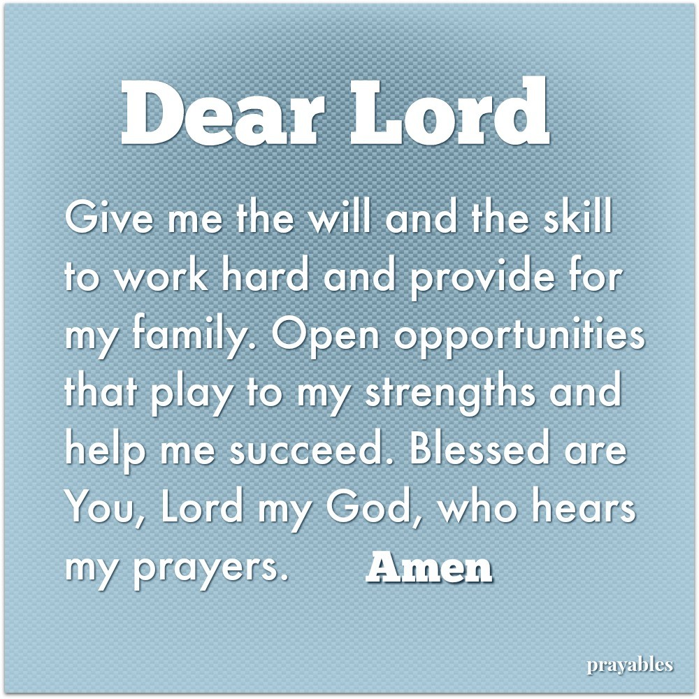 images Prayer For A Great Day At Work prayables