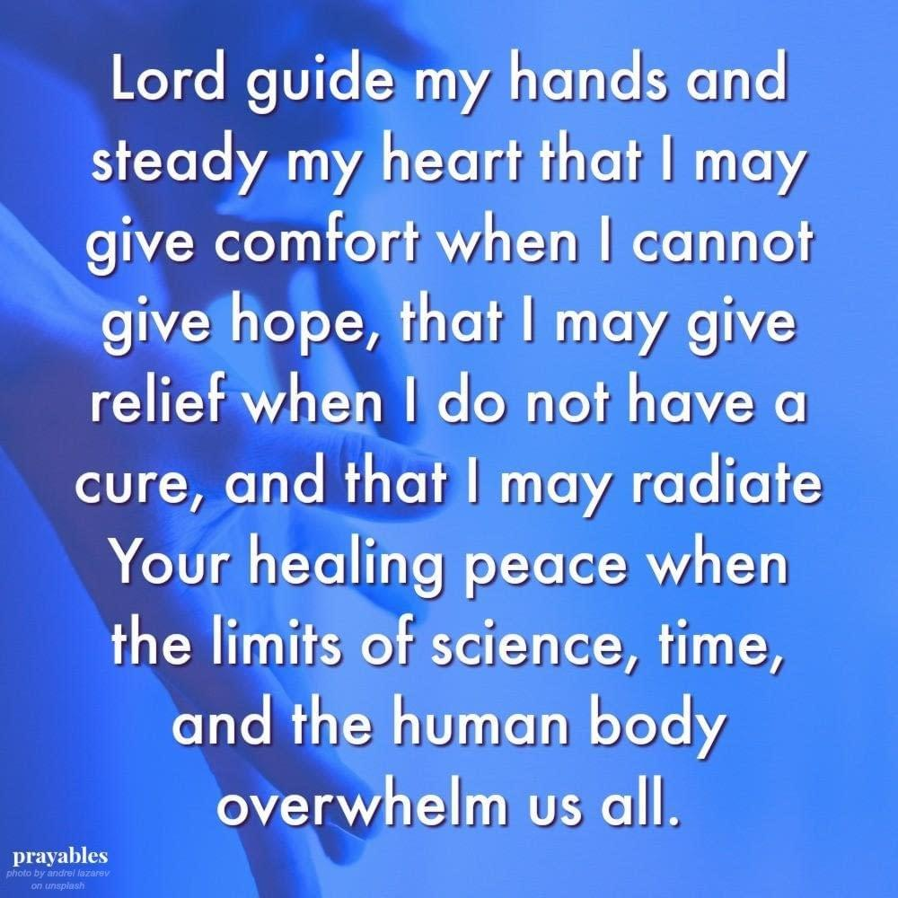 Caregivers Prayer  Prayables