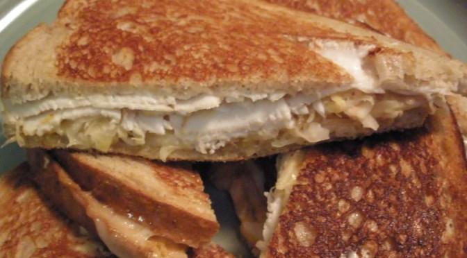 White Reuben Sandwich