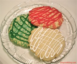 3 sugar cookie