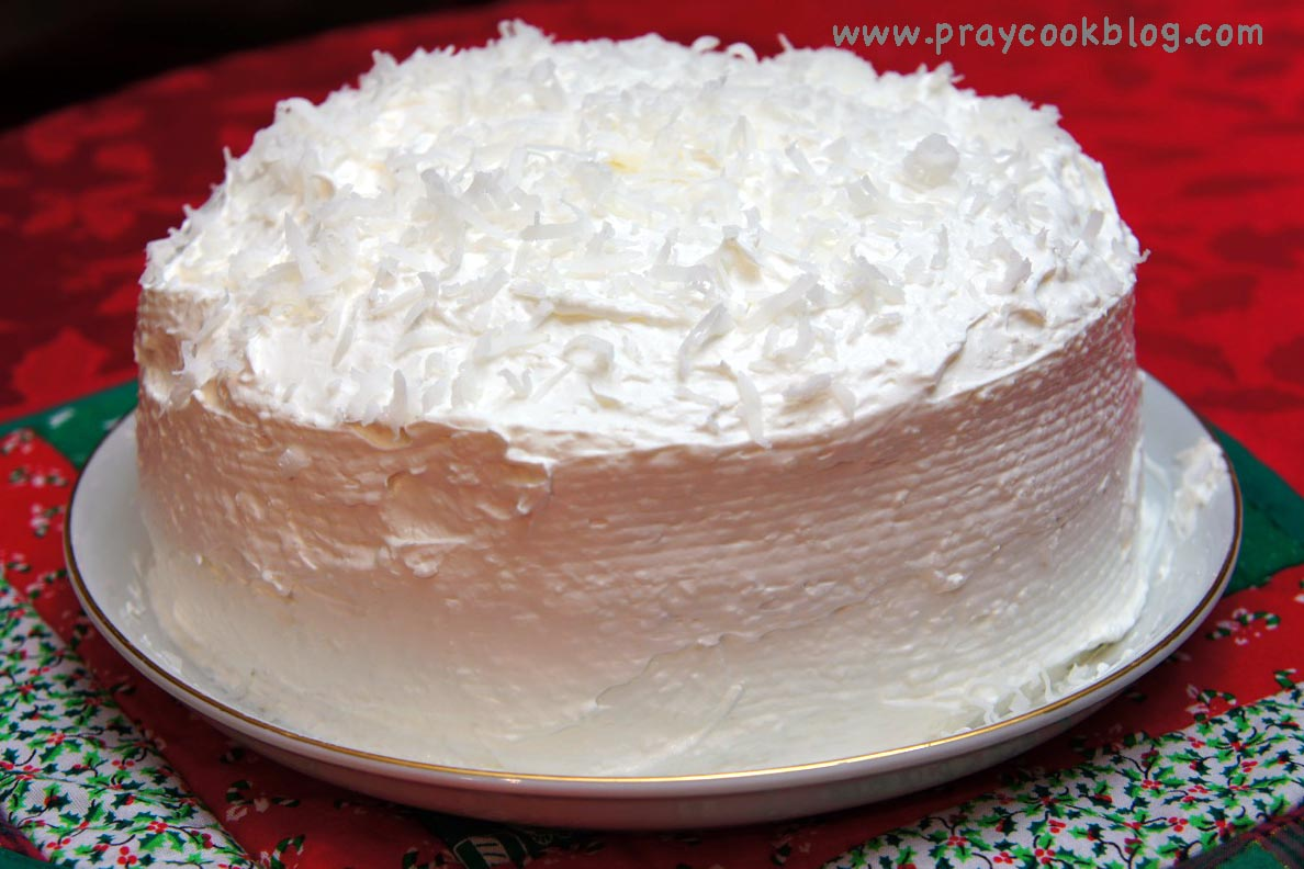 Sour Cream Coconut Cake My Daily Bread Body And Soul