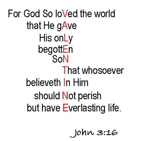 Valentine John 3-16