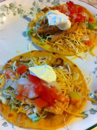 Christina chicken tacos