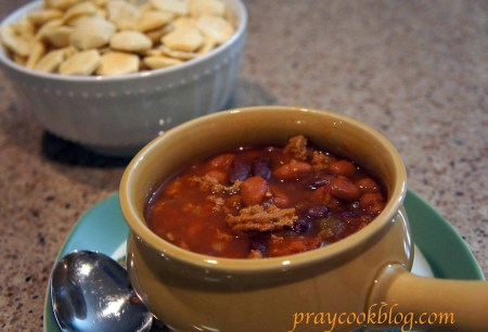 homemade crockpot chili