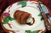 Bacon Wrapped Cream Cheese Filled