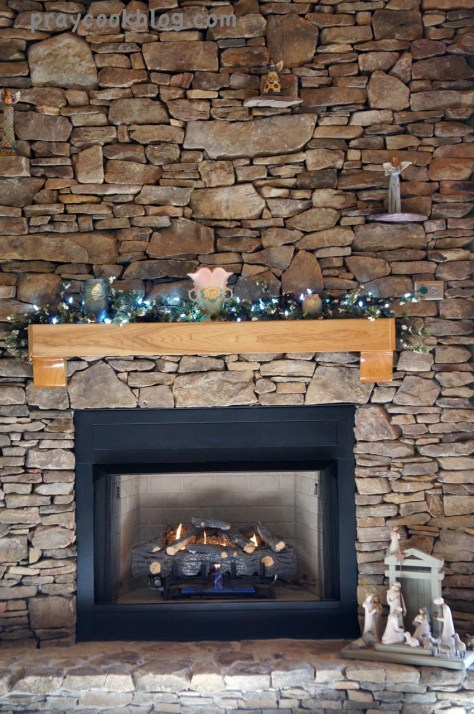 New Year Fireplace