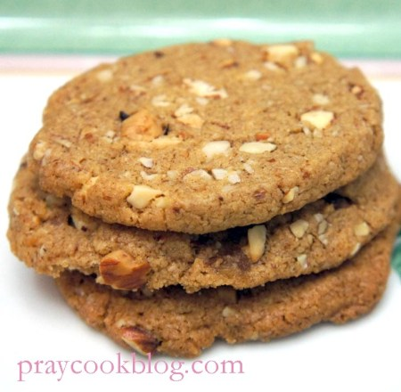 ww almond butter cookie