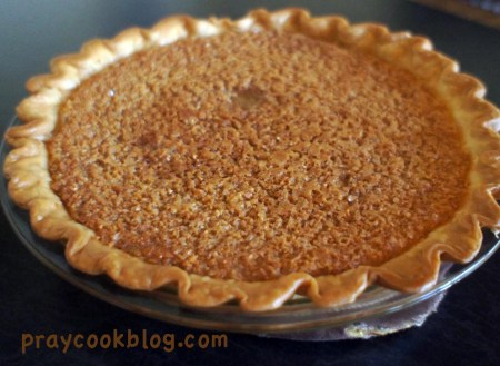 Lemon Chess Pie whole