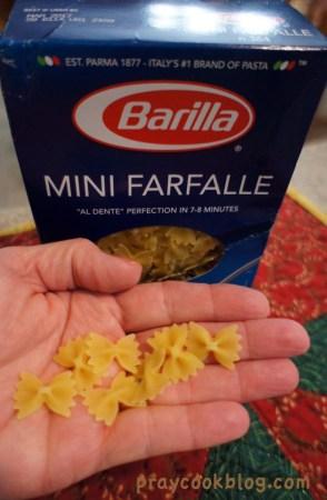 Mini Farfalle