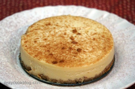 tiramisu cheesecake down