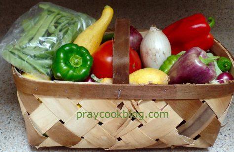 Basketful From Farmer's Market