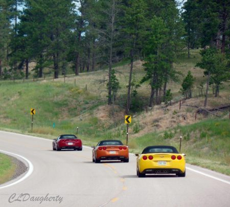 Corvettes on a curve