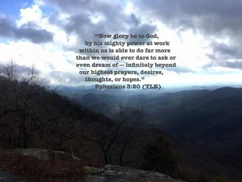 Mt View Ephesians 3:20