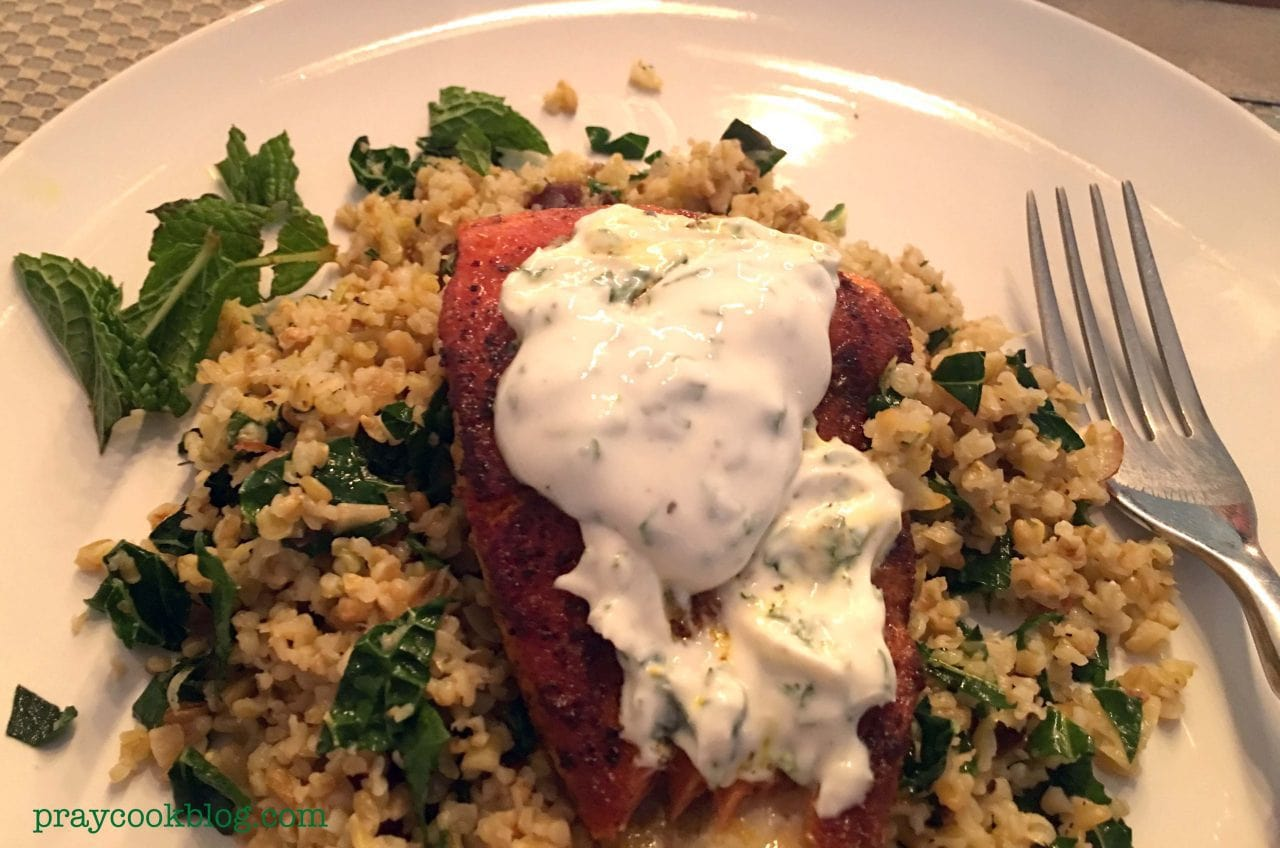 Blue apron number of subscribers - Sumac Spiced Salmon