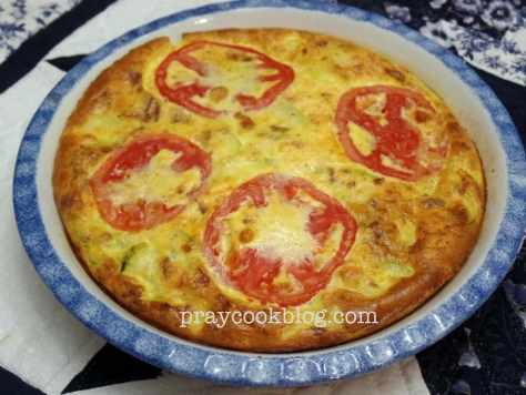 summer's bounty quiche