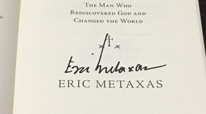 Martin Luther, The Man Who Rediscovered God and Changed The World by Eric Metaxas — Including a Signed Copy Giveaway!