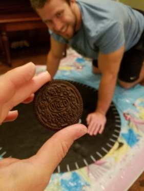 Making the Oreos